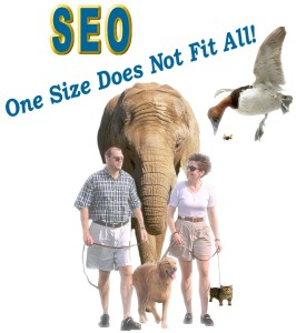 SEO One Size Does Not Fit All