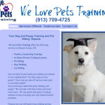 Dog Training Site Review welovepetstraining.com